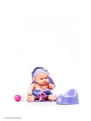 Кукла Карапуз. Цвет: фиолетовый, розовый