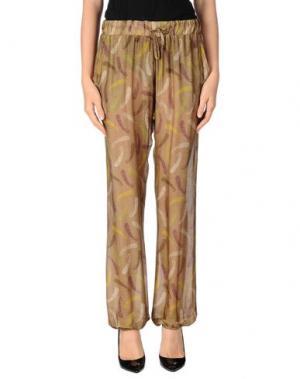 Повседневные брюки MOSAIQUE. Цвет: хаки