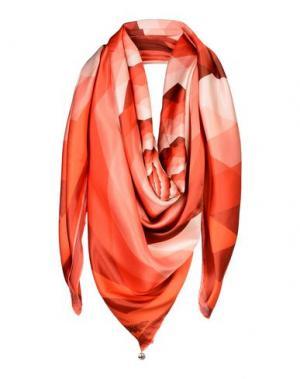 Платок PARCAE. Цвет: красный