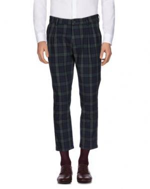 Повседневные брюки MC MASTER OF CEREMONIES. Цвет: темно-зеленый