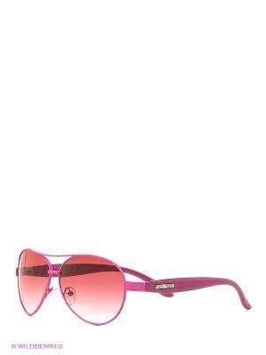 Солнцезащитные очки Vittorio Richi. Цвет: малиновый