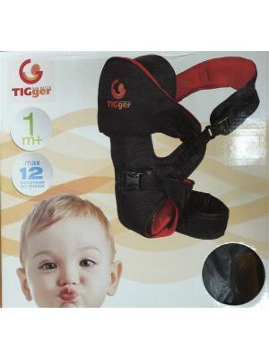 Рюкзак для переноски детей Venus (c шапочкой) TIGger. Цвет: черный
