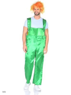 Карнавальный костюм Карлсон Батик. Цвет: салатовый