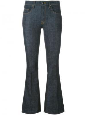 Расклешенные брюки Victoria Beckham. Цвет: синий
