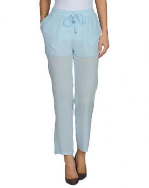 Повседневные брюки TROU AUX BICHES. Цвет: небесно-голубой