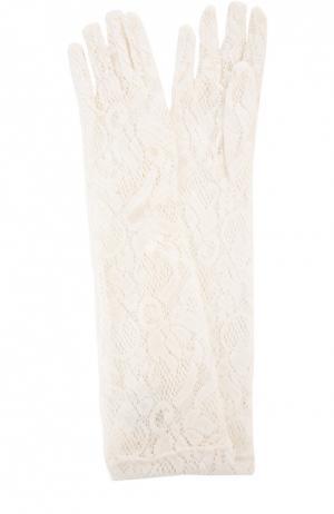 Перчатки Sermoneta Gloves. Цвет: белый