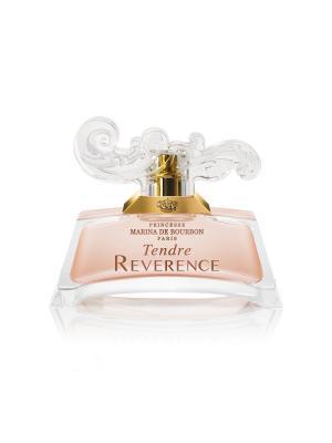 Парфюмерная вода Marina De Bourbon Tendre Reverence, 30 мл. Цвет: прозрачный