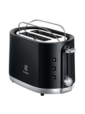 Тостер Electrolux EAT3240 черный 940Вт. Цвет: черный