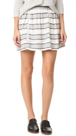 Меланжевая юбка dRA. Цвет: городской мульти