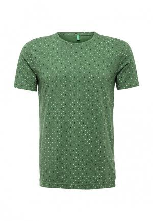 Футболка United Colors of Benetton. Цвет: зеленый