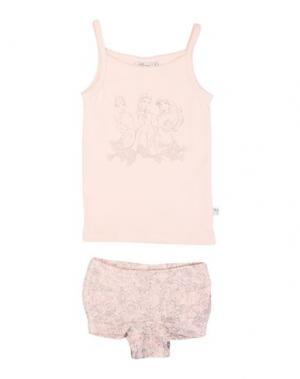 Комплект белья WHEAT. Цвет: розовый