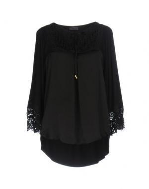 Блузка HALE BOB. Цвет: черный