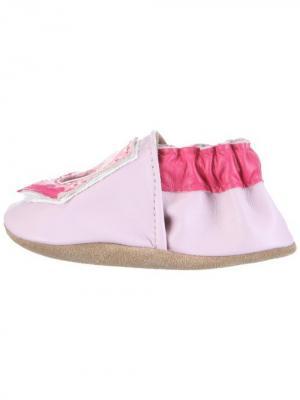 Ботинки MaLeK BaBy. Цвет: бледно-розовый, розовый