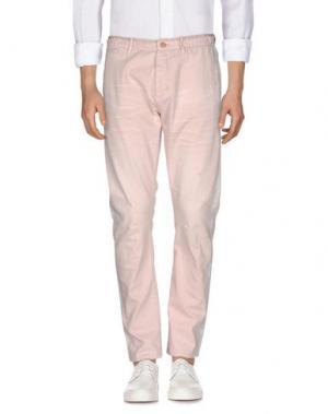 Джинсовые брюки SCOTCH & SODA. Цвет: светло-розовый