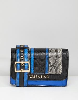 Valentino by Mario Сумка через плечо. Цвет: синий