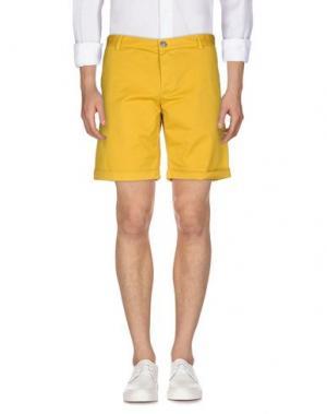 Бермуды BASICON. Цвет: желтый