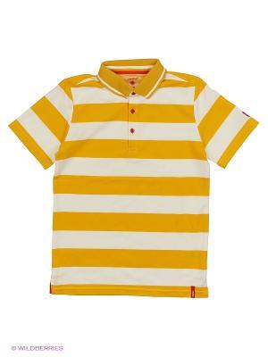 Футболка Reima. Цвет: желтый