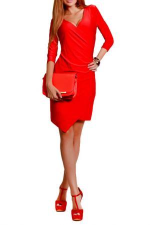 Платье FRANCESCA LUCINI. Цвет: красный