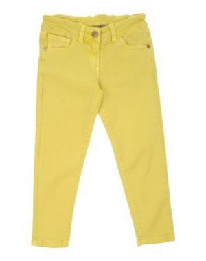 Джинсовые брюки MANILA GRACE DENIM. Цвет: желтый