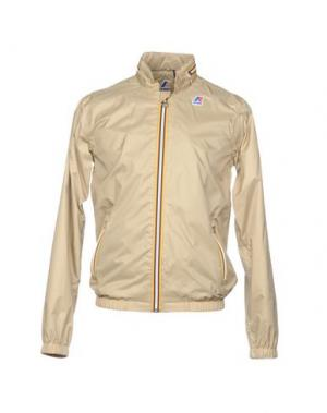 Куртка K-WAY. Цвет: бежевый