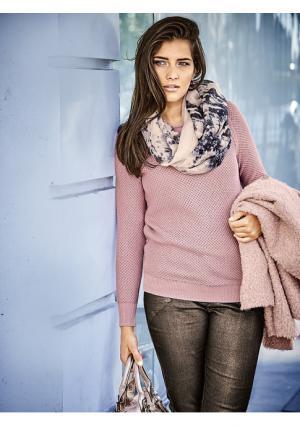 Пуловер B.C. BEST CONNECTIONS. Цвет: мятный, розовый, цвет голубого льда, экрю