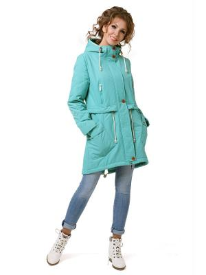 Куртка DizzyWay. Цвет: светло-зеленый