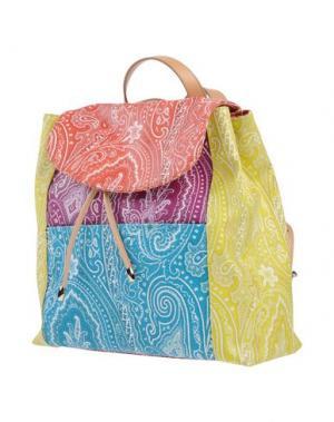 Рюкзаки и сумки на пояс ETRO. Цвет: пурпурный