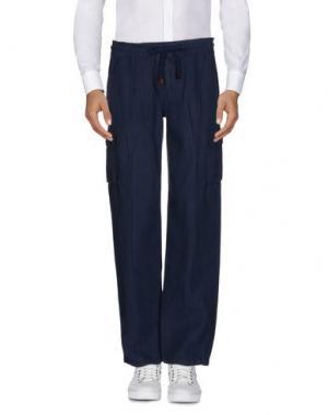 Повседневные брюки VILEBREQUIN. Цвет: темно-синий