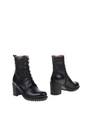 Полусапоги и высокие ботинки FIORANGELO. Цвет: стальной серый