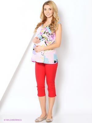 Блузка-топ MammySize. Цвет: розовый