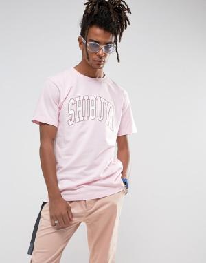 Cayler & Sons Розовая футболка. Цвет: розовый