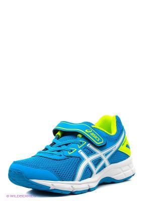 Спортивная обувь PRE GALAXY 9 PS ASICS. Цвет: синий, белый, желтый