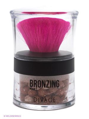 Divage Пудра-бронзатор В Шариках Bronzing Pearls - № 01. Цвет: бронзовый