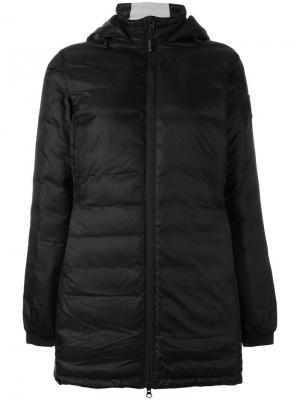 Дутая куртка Canada Goose. Цвет: чёрный