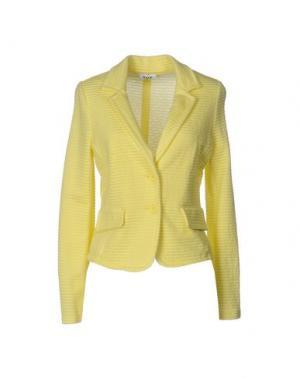 Пиджак KATE. Цвет: желтый