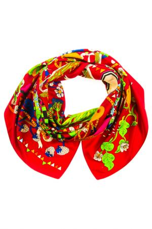 Платок Vita Pelle. Цвет: бордовый, зеленый