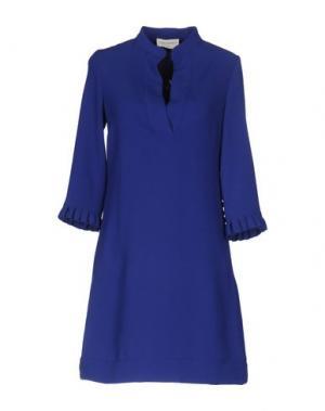 Короткое платье SONIA DE NISCO. Цвет: синий