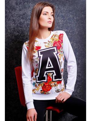 Свитшот Fashion Up. Цвет: белый, черный, красный, золотистый