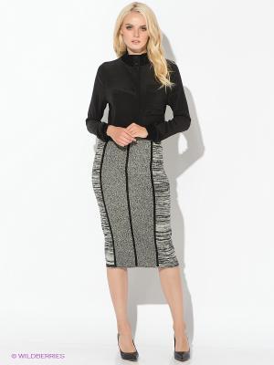 Блузка Calvin Klein. Цвет: черный