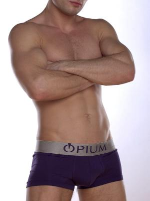 Трусы OPIUM. Цвет: фиолетовый