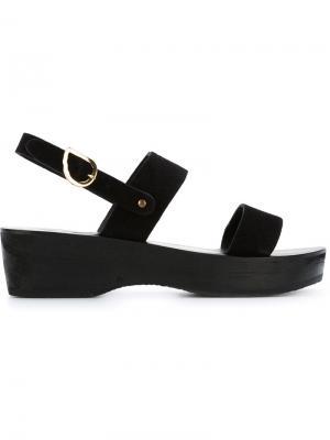 Сандалии Dinami Sabot Ancient Greek Sandals. Цвет: чёрный