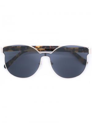 Солнцезащитные очки Star Sailor Karen Walker Eyewear. Цвет: телесный