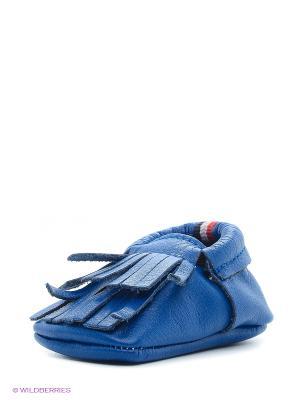 Пинетки U.S. Polo Assn.. Цвет: синий