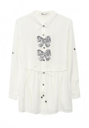 Блуза Vitacci. Цвет: белый
