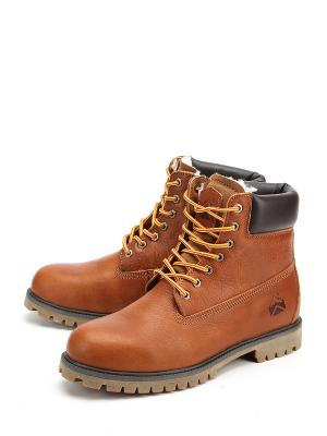 Ботинки Avery. Цвет: коричневый