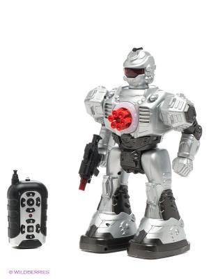 Робот Космический десант Shantou Gepai. Цвет: серебристый, красный, серый
