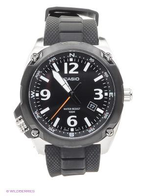 Часы Casio MTF-E001-1A. Цвет: черный