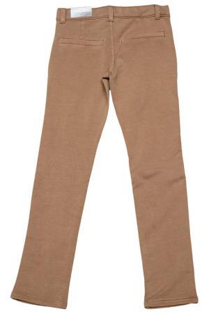 Трикотажные брюки Dodipetto. Цвет: бежево-коричневый