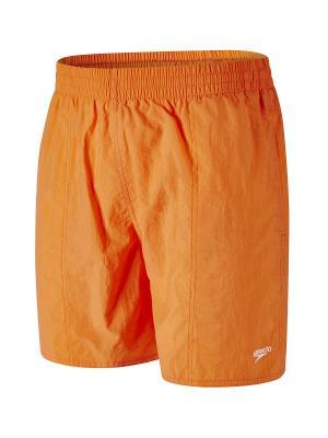 Шорты Speedo. Цвет: оранжевый