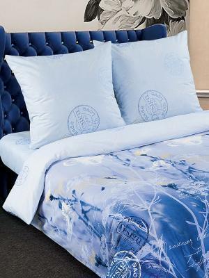 Постельное белье Арт Постель. Цвет: голубой, синий